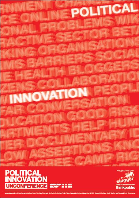Political Innovation thinkpublic poster